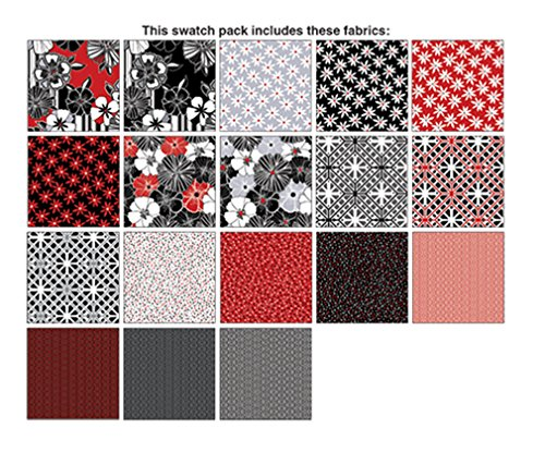 Kanvas Studio Cherry Twist 10X10 Pack 42 10-inch Squares Layer Cake Benartex