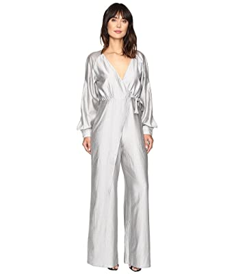 48524f0952c Amazon.com  StyleStalker Women s Rosetta Jumpsuit Silver Stripe Jumpsuit   Clothing