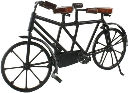Intelligent Design Hierro y Madera – de Bicicleta Tandem: Amazon ...