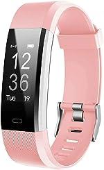 Lintelek Fitness Activity Tracker HR, Fit Watch Sleep Monitor Pedometer Calorie