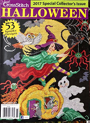 JUST CROSSSTITCH HALLOWEEN 2017 SPECIAL -