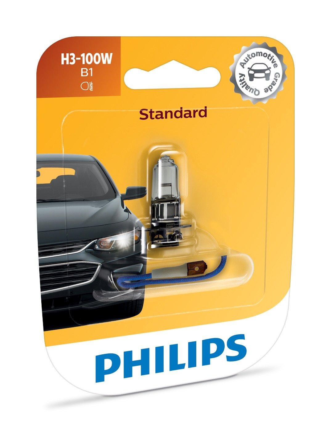 Philips 12362B1 H11 Standard Headlight Bulb Pack of 1
