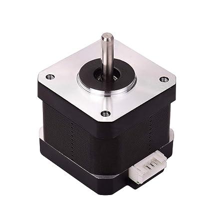 Aibecy Piezas de la impresora 3D 42-40 Motor paso a paso 2 fases ...