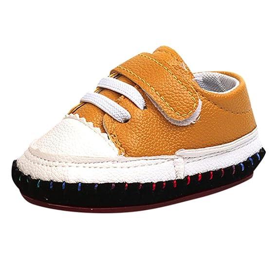 ZODOF Toddler Kids Striped Splice Zapatos de bebé Niños Niñas Soft Sole Shoes Sneakers: Amazon.es: Ropa y accesorios