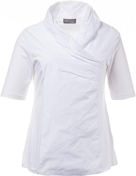 Ulla Popken Taft-Shirt, 3/4-Arm, Sudadera para Mujer