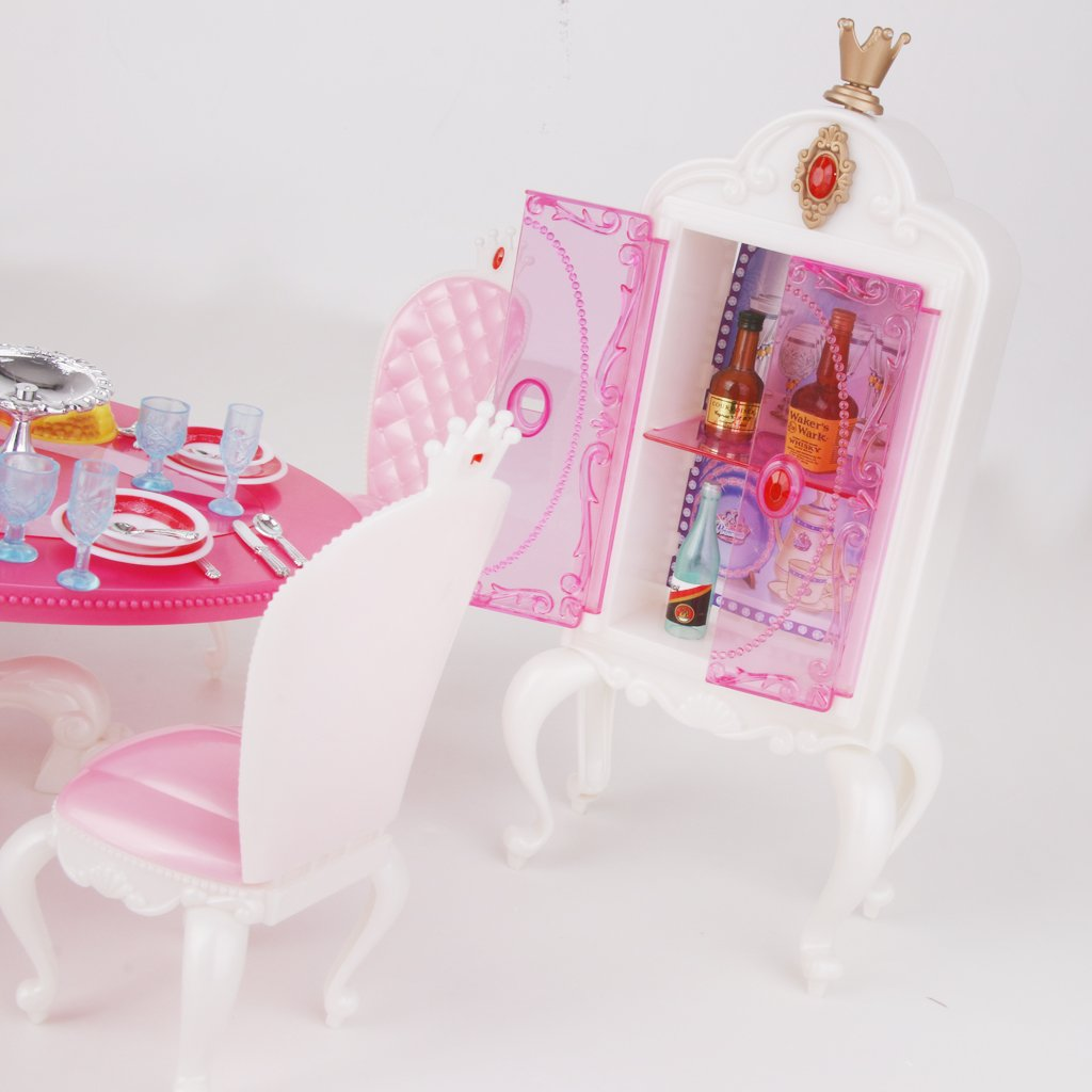 Buy Generic Doll House Miniature Furniture Dining Table with ...