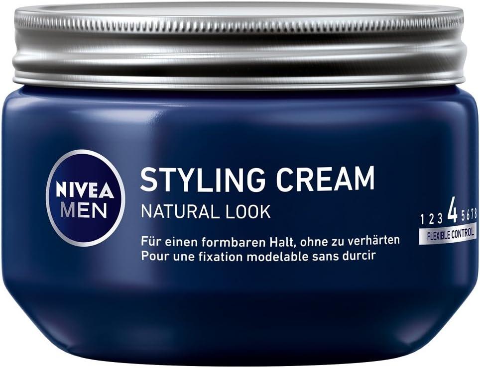 Nivea Men Styling Cream, Look flexible, 3-pack (3 x 150 ml)