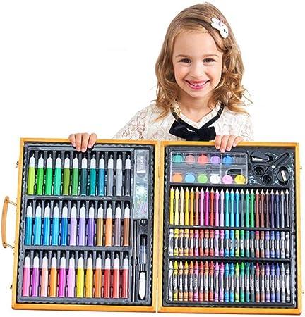 Regalos para Niñas -Estuche Colores, Kit Manualidades, 150 Piezas, Pinturas para Niños, Set De Arte Infantil, Art Set, Regalos Originales 3 a 12 años: Amazon.es: Hogar