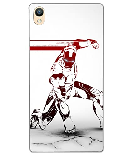 Csk Iron Man Logo Wallpaper Mobile Case Cover For Oppo Amazon In