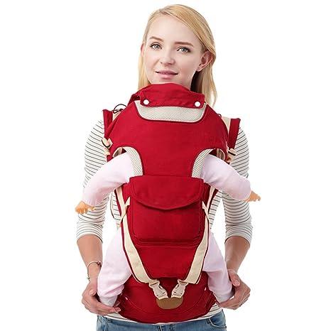Ykzzldx Mochila para hombros 4 estaciones Mochilas portabebés Bebé, portabebés ajustable para niños de 0