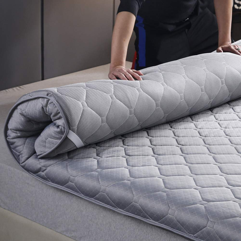 35x79inch LWZY Breathable Japanese Futon Mattress,collapsible Roll Up Not-slip Foldable Thicken Mattress For Floor Tatami Sleeping-a 90x200cm