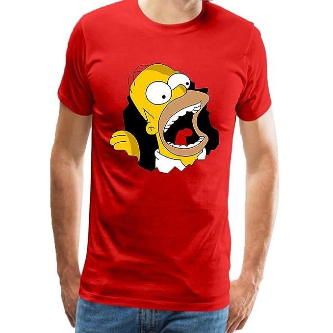 Camiseta para hombre Homer Simpsonhttps://amzn.to/34MDFvk