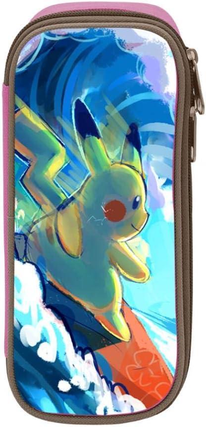 Pokemon Pikachu - Estuche escolar para estudiantes, diseño de Pokemon Pikachu, Rosa, ONE_SIZE: Amazon.es: Amazon.es