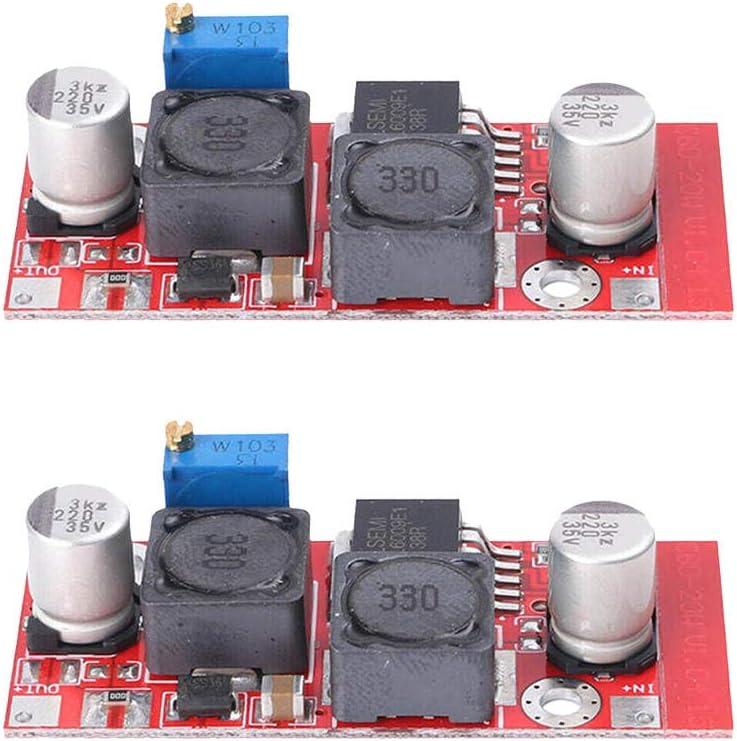 Loriver 2X Boost Buck DC Ajustable Reductor convertidor XL6009 Voltaje del módulo