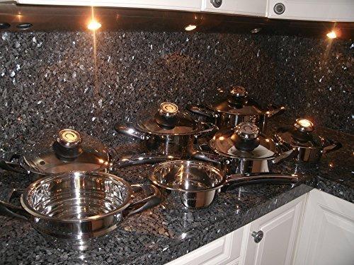 Cooking Set Pot Grill Set 12 Piece Saucepans SwissMade Casserole Retail $ 2199,= Waterless Healthy