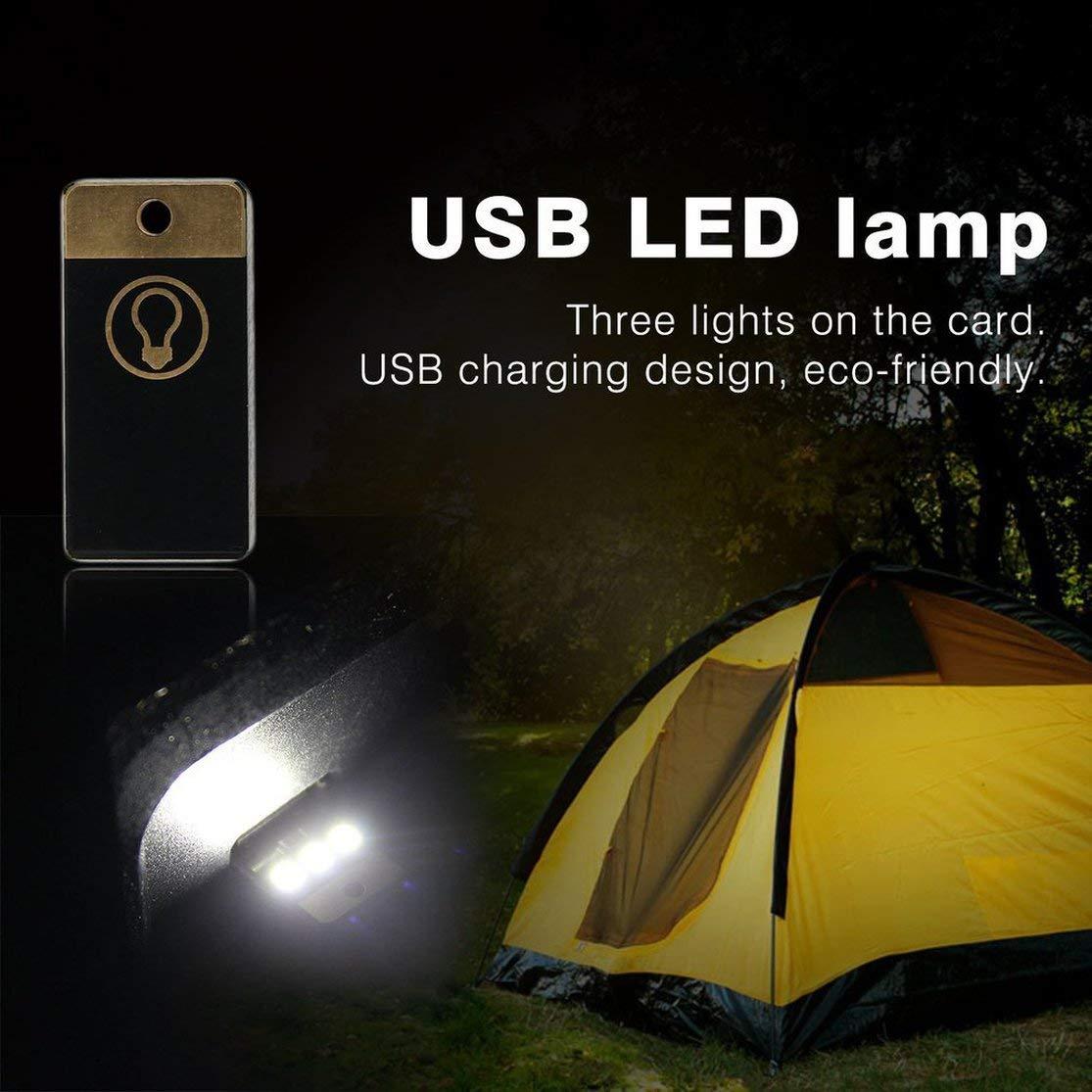 LouiseEvel215 1pcs Mini Lampe de Camping USB Nuit Mobile USB LED Lampe Blanche//lumi/ère Chaude en Gros 0,2 W Ultra Faible Puissance 2835 puces