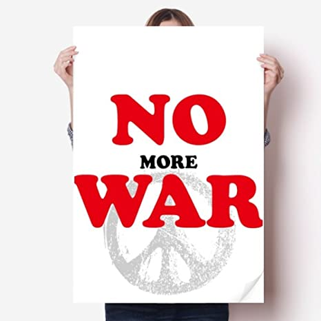Amazoncom Diythinker No More War World Love Peace World Vinyl Wall
