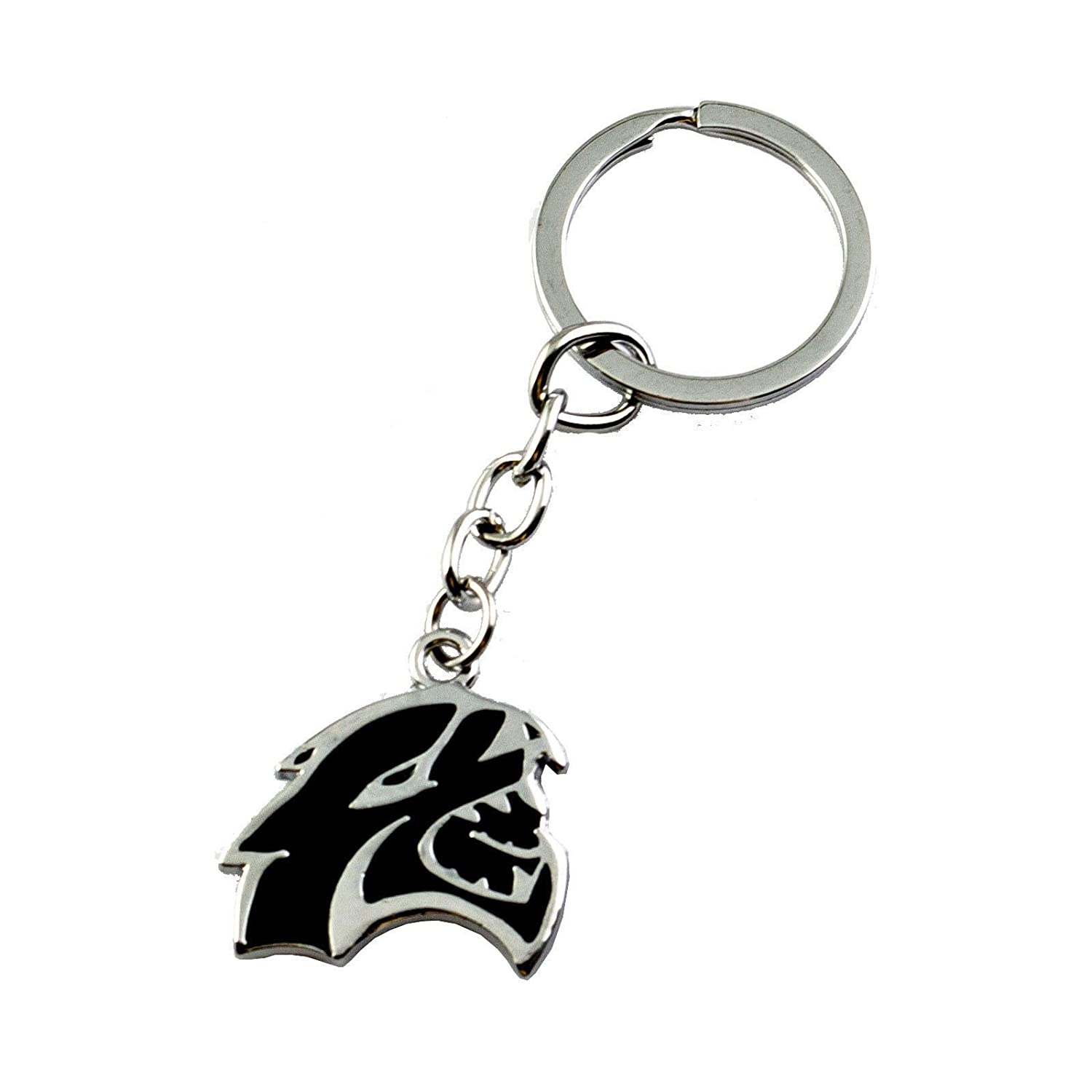 Xotic Tech 3D Hellcat Hell Cat Keychain Key Chain Fob Ring for Dodge Challenger Charger Xotic Tech Direct