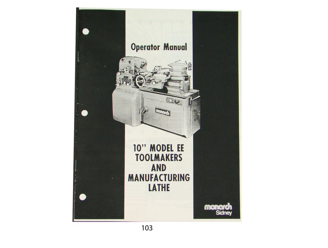 Monarch Lathe Operator Manual 10