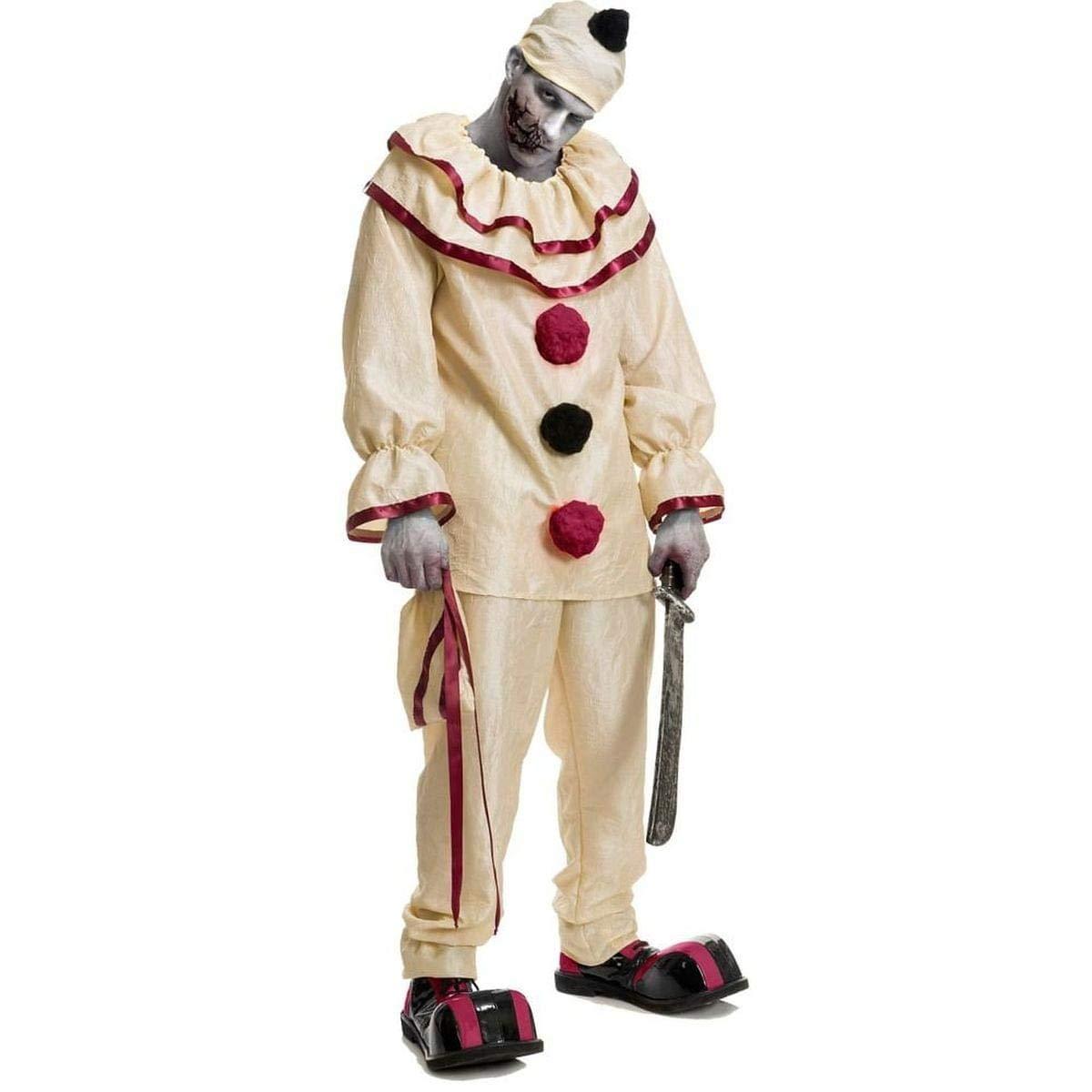 Adult Freaky Clown Fancy dress costume Medium