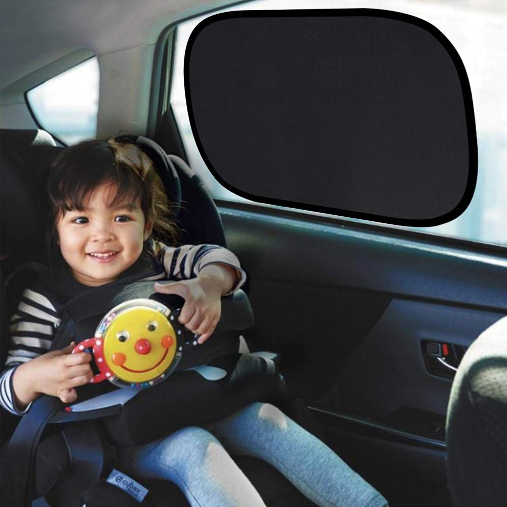 36 CM Suitable For Most Vehicles Oziral Car Window Shade Car Sun Shade Car Sunshade Block Harmful UV 44 Electrostatic adsorption
