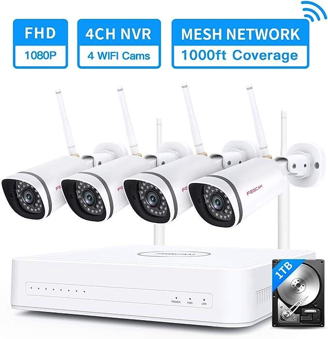 Top 10 Home Security Camera System Foscam