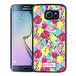 Unique And Fashionable Designed Cover Case For amsung Galaxy S6 Edge With Lilly Pulitzer 16 Black Phone Case