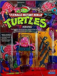 Vintage 1989 Teenage Mutant Ninja Turtles Krang Action Figure