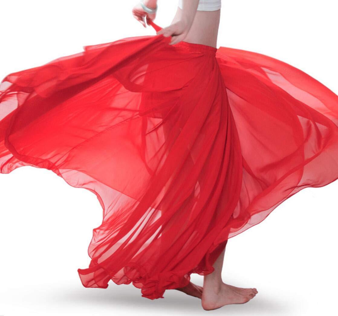 Vestido De Falda De Danza del Vientre De Las Mujeres Ropa De ...