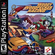 Ps1 Woody Woodpecker Racing Original Pica Pau Black Label