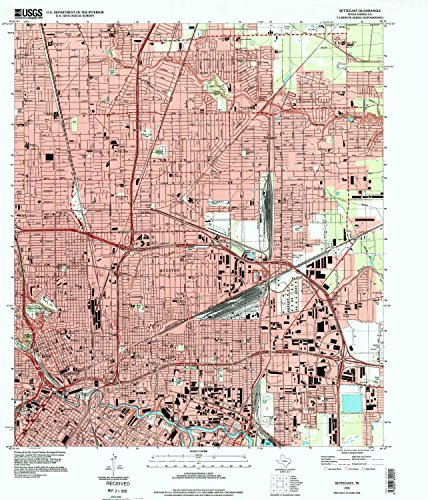 Settegast TX topo map, 1:24000 scale, 7.5 X 7.5 Minute, Historical, 1995, updated 1999, 26.9 x 23 IN - - Center Rosedale