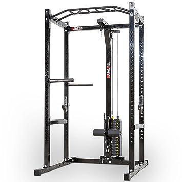 MegaTec Power Rack con poleas - Stack Weight - Pesos de Ranuras ...