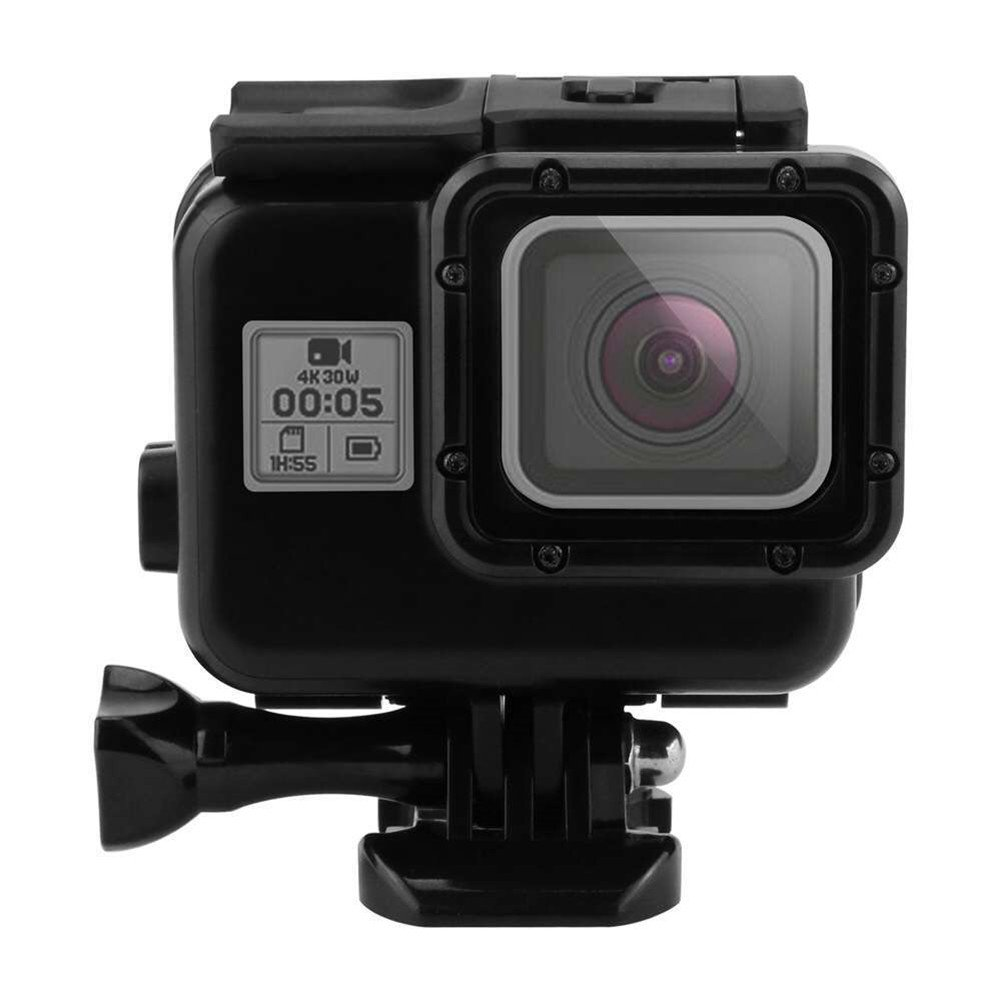 Tangxiaケースfor GoPro Hero 5 / 6 withタッチ画面Underwater Housing – -ブラック   B07CNHGY92