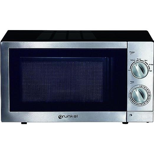 Grunkel - Microondas con grill de 20 litros de capacidad en ...