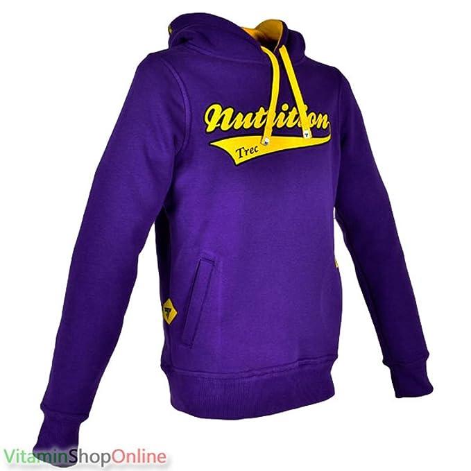 Vitamin Shop Online - Sudadera con capucha - Manga Larga - para hombre Morado violeta L: Amazon.es: Ropa y accesorios