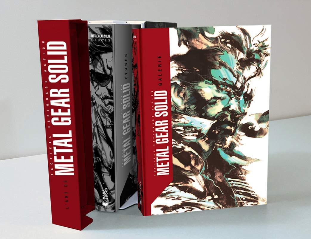 Lart de Metal Gear Solid : Coffret en 2 volumes : Galerie ; Etudes: Amazon.es: Kojima Productions, Debienne, Manon: Libros en idiomas extranjeros
