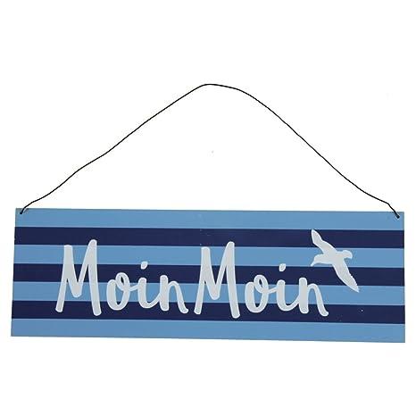 Maritimes Schild MOIN MOIN