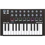 ARTURIA MIDIキーボード・コントローラー MiniLab MK II Black Edition