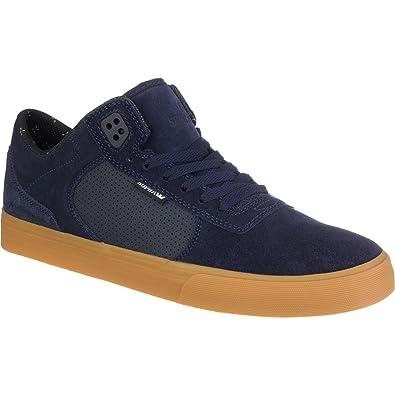 9d908c020588 Supra Ellington Vulc Skate Shoes Mens Navy Suede Medium   12 C D US Women    10.5 D(M) US Men  Buy Online at Low Prices in India - Amazon.in