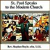 St Paul Speaks to the Modern Church
