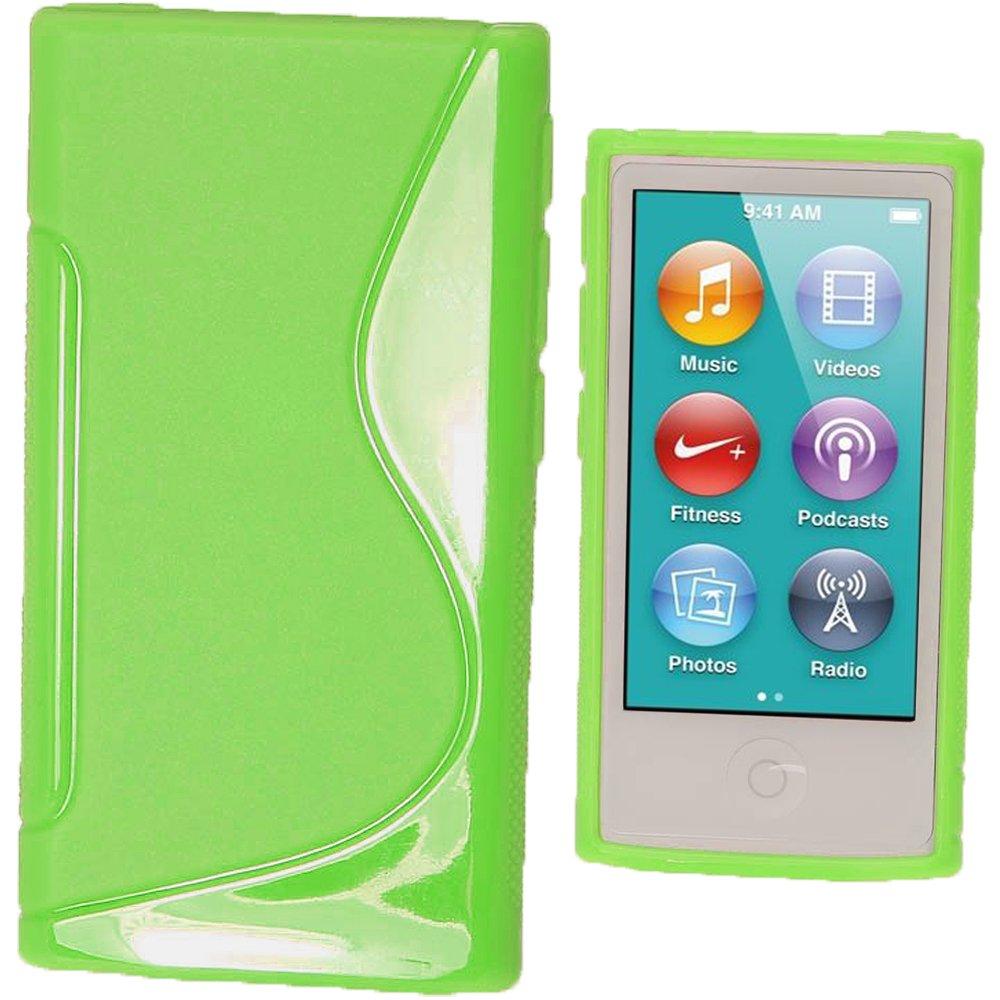 Nero igadgitz U2001 Custodia TPU per Apple iPod Nano 7 Generazione Cover