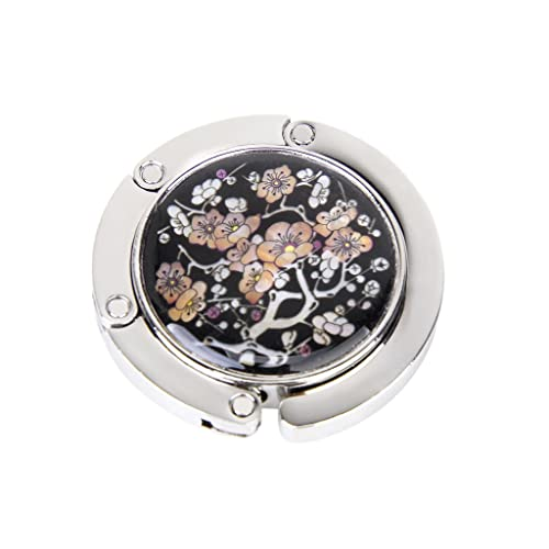 389f88401f9 Mother of Pearl Butterfly Foldable Table Purse Caddy Handbag Holder Hanger  Hook Grimbatol best Christmas gift