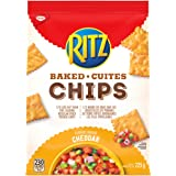 Ritz Baked Chips Cheddar Flavour 225g/7.9oz Imported from Canada