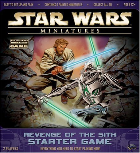 Star Wars Miniatures Revenge of the Sith Starter Game - Sith Star Wars Miniatures