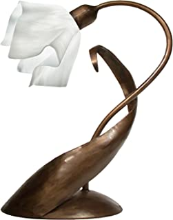 product image for Jezebel Radiance TLLD-BBH-FP12-WHC Flame Style Brown with Brown Highlights Lazy Daisy Lamp, White Cloud