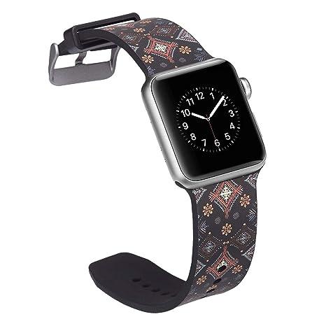 tomoyi para Apple Watch Pulsera 38 mm 40 mm, Soft Silicona para ...