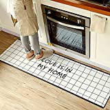USTIDE Anti-Fatigue Comfort Mat-17.7 x 59 inch Ergonomic Multi Surface, Non-Slip - Waterproof All-Purpose Luxurious Comfort - for Kitchen, Bathroom or Workstations …
