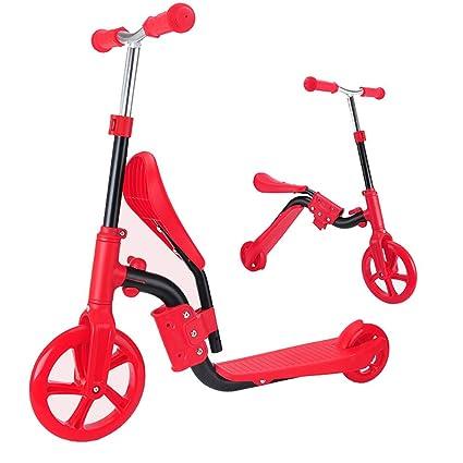 Amazon.com: CHH MAELOVE patinete para niños de 2 ruedas, con ...