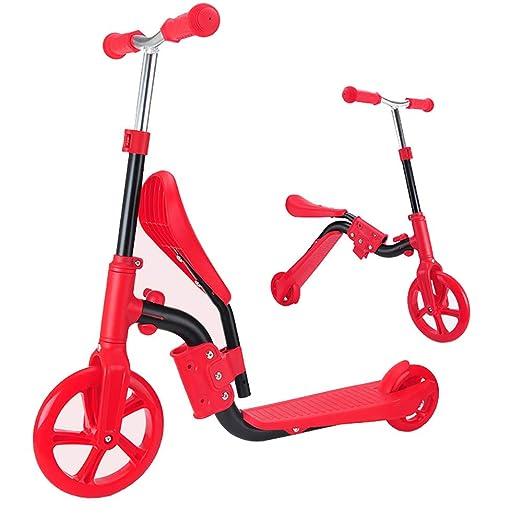 CHH MAELOVE Ajustables Altura Scooter para NiñOs con 2 ...