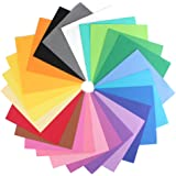 """IMISNO DIY Foam Sheets Paper Pack of 24pcs ( 24 Colors,9.8""""x9.8"""",thickness:0.039"""" /1mm)"""